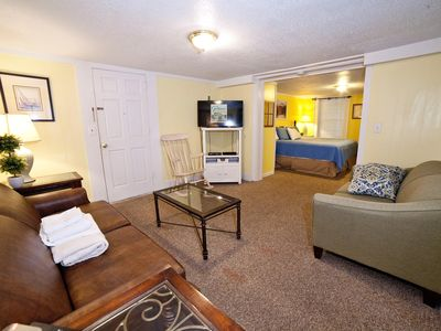 Photo for Tybee Island 1 BR Suite near Beach & Attractions w/ Full Kitchen, WiFi & Parking