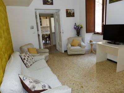 Photo for Beautiful apartment for four guests with WIFI, A/C, TV and balcony