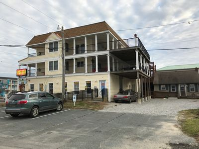 Photo for Two Bedroom Appartment Located In The Heart Of Dewey Beach!! One Block From