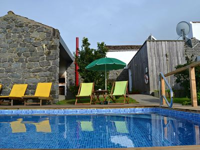 Photo for Rural Tourism / Country House in stone with pool and sea views and mountain