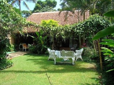 Photo for Beautiful beach and beautiful garden in the middle of nature, 6 suites, large living room, peace and sunshine.
