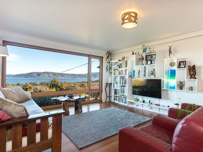 Photo for Spectacular views, beautiful, comfortable, eco home