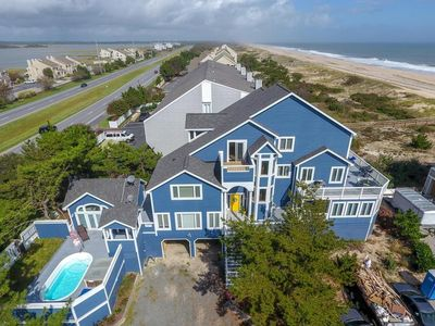 Photo for RARE, GORGEOUS SEMI-OCEANFRONT HOME - SLEEPS 20, PRIVATE POOL, PRIVATE GATED COMMUNITY & PRIVATE BEACH