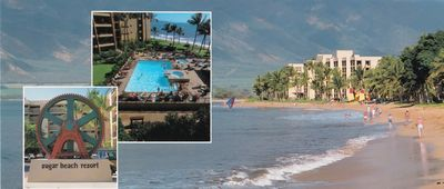 Maui Sugar Beach Condos on 5.5 mile white sand beach