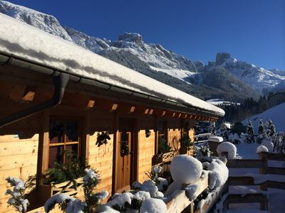 Photo for Exclusive wooden house in the middle of the Dachstein-West skiing area