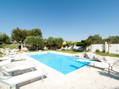Photo for Vacation home Villa blu con piscina  in Lizzanello, Puglia - Salento - 15 persons, 5 bedrooms