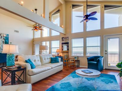Photo for Oceanfront, dog-friendly luxury with unparalleled Gulf Coast views