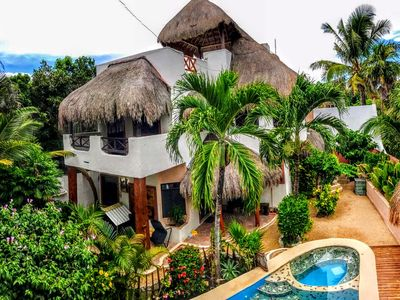Photo for 2BR PRIVATE VILLA! POOL! 2 BiKES! + Opt 1BR Guest House $65/night more
