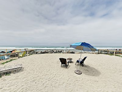 Photo for New Listing! Immaculate 3,855 Square Foot Oceanfront Eden w/ Private Beach