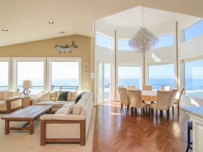 Photo for Luxurious Oceanfront Home w/ Private Beach Access, Hot Tub, Sauna and MORE!