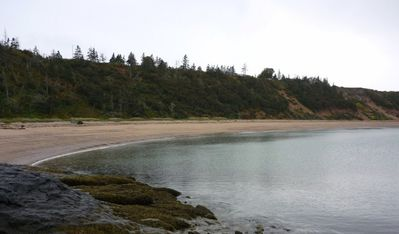 Nearby beach at Sandy Cover