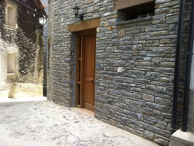 Photo for Apartment Cal Bartomeu for 2 people in Llavorsi Catalan Pyrenees