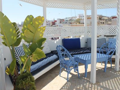 House in the medina of Tangier with panoramic terrace