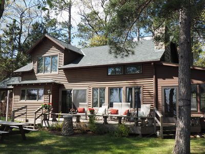 Photo for FAMILY CABIN ON LOWER WHITEFISH LAKE!  NEAR CROSSLAKE! SLEEPS 10 New Ctrl A/C!