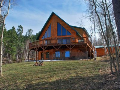Photo for 5 Star Lodge in the Heart of the SD Black Hills accommodates up to 18 people!