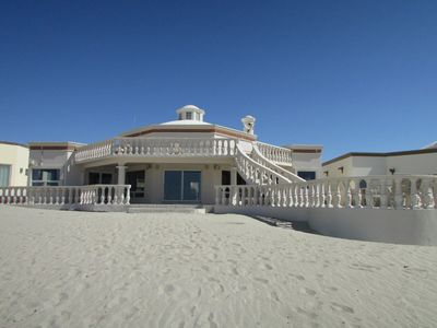 Photo for Custom Home on Beach Front Property in Gated Community