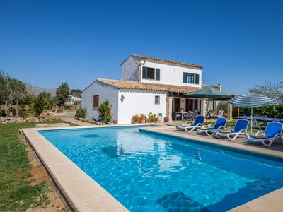 Photo for Renata Villa - A Charming Country Villa with Private Pool and Fantastic Views to the Tramuntana Mountain Range!  - Free WiFi