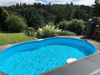 Photo for modern and exclusive 2-room apartments with pool, near the Eifel National Park