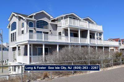 Photo for Gorgeous beachfront! More than double the ocean frontage of most homes in Sea Isle, the views are awesome!