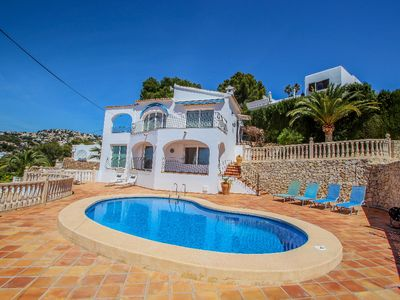 Photo for Aloha - sea view villa with private pool in Benissa