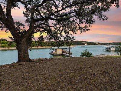 Photo for Waterfront Home with Spacious Decks and More with neighborhood boat ramp