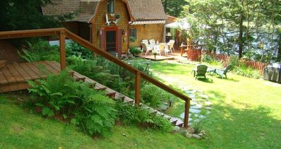 Photo for Lake Echo Vacation Rental a Lovely Warm Lake Side Cottage