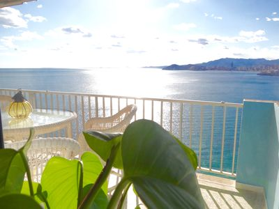 Photo for PRIVATE LUXURY SEAFRONT APART. BEST VIEW OF THE BAY !!