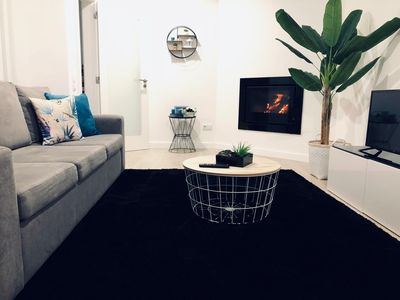 Photo for The Central Tiled Apartment is a cozy apartment situated in the city center
