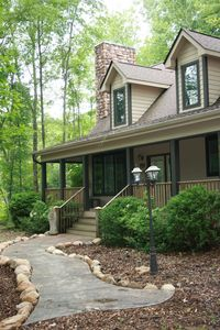 Photo for Fully Furnished 3 Bedroom Home in a Tranquil Wooded Setting