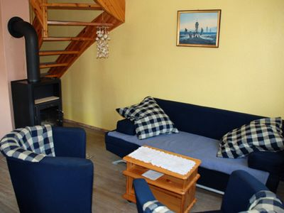 Photo for Holiday house with fireplace - Pension in the seaside resort Breege