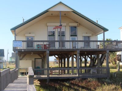 Photo for Front Row Beach House 3/2 with loft sleeps 16!