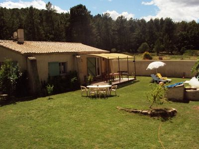 Photo for Holiday house with quiet pool in the countryside