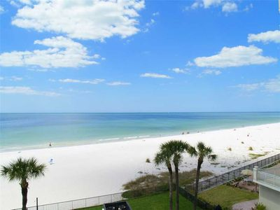 Photo for Quiet Stretch of Indian Shores Beach - Direct Beach Front Balcony Gulf Views for Miles - Free Wifi