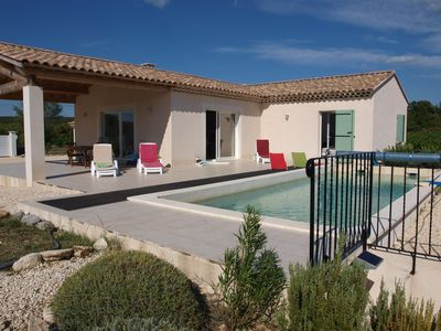 Photo for Recent detached house with private pool on 2,000 m2 of land