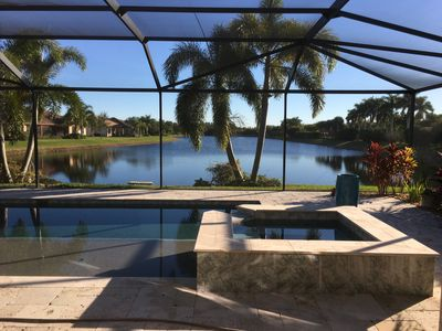 Photo for Waterfront House with Pool/Spa in Naples gated community.