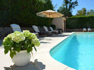 Photo for Charming villa with pool in Mondello, luxury, comfort, relaxation, beach and tennis!