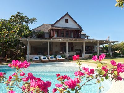 Photo for Hidden Bay by the Sea - Ideal for Couples and Families, Beautiful Pool and Beach