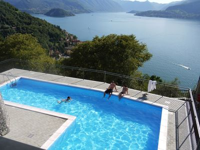Photo for 2BR Apartment Vacation Rental in Varenna (Perledo)