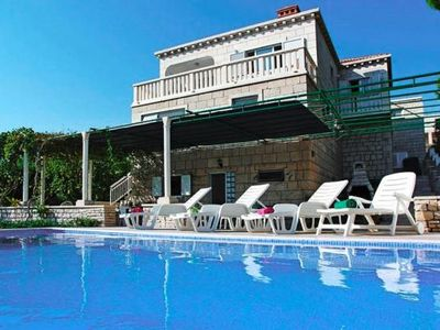 Photo for holiday home Maritim, Lumbarda  in Korcula - 13 persons, 4 bedrooms