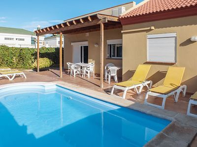 Photo for Attractive villa just a short walk from renowned resort w/ pool, BBQ and terrace
