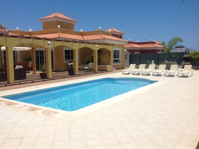 Photo for 'Villa Jasmine', is a Fabulous Luxury Property, Private Pool Golf & Sea Views