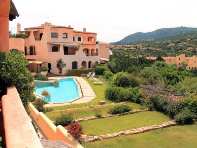 Photo for Centrally located in Porto Cervo with pool by the old port