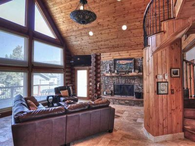 Photo for Two Custom Cabins - 9 BEDROOMS SLEEPS 27