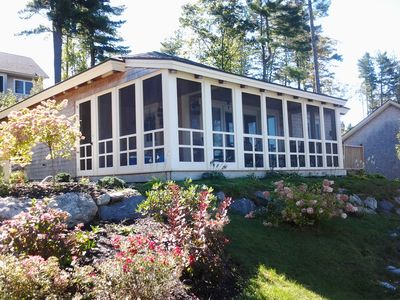 Photo for 2BR Cottage Vacation Rental in Edgecomb, Maine