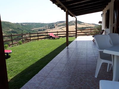 "Photo for ""Su Pasciale"" house with swimming pool 10 minutes from the sea"