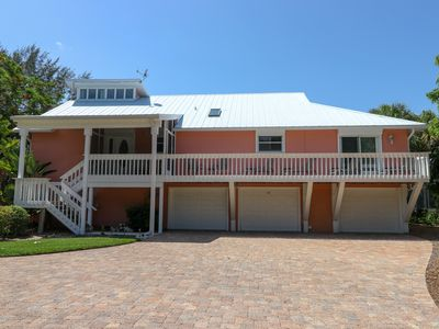 Photo for Fantasea: Spectacular Pet Friendly 4 BR Pool Home Only Steps to the Beach!