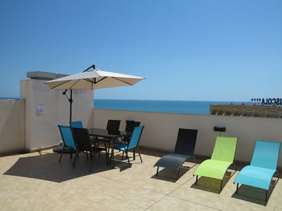 Photo for DUPLEX PENTHOUSE NEXT TO THE BEACH. SWIMMING POOL. GREAT TERRACE AND PARKING