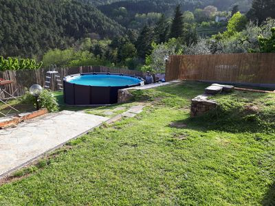 Photo for Casa Luigina: rustic with pool on the Lucca hills