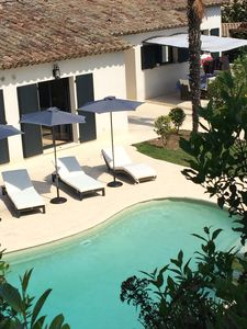 Photo for Superb villa 5 minutes walk from the village of Valbonne, 15 minutes from Cannes