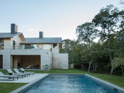 Photo for Amagansett Beautiful New Modern with Bay Views